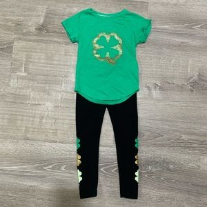 Girls St Patrick's Day outfit